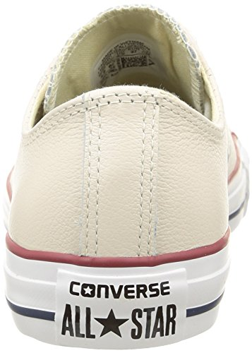 Converse Ctas Sea Lea Ox, Baskets Basses Femme Blanc Cassé