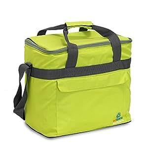 outdoorer Kühltasche Cool Butler 25 - dank Schultergurt ideale Kühltasche für unterwegs - geeignet für Wocheneinkäufe, Strandausflüge, Radtouren, Camping und Transport von Medikamenten
