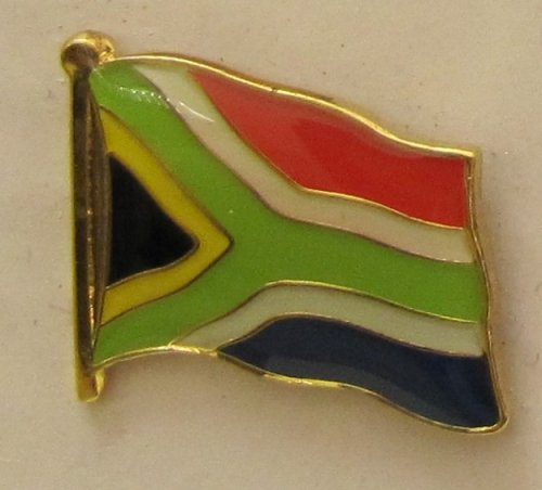 Süd Afrika Pin Anstecker Flagge Fahne Nationalflagge Südafrika Flaggenpin Badge Button Flaggen Clip Anstecknadel