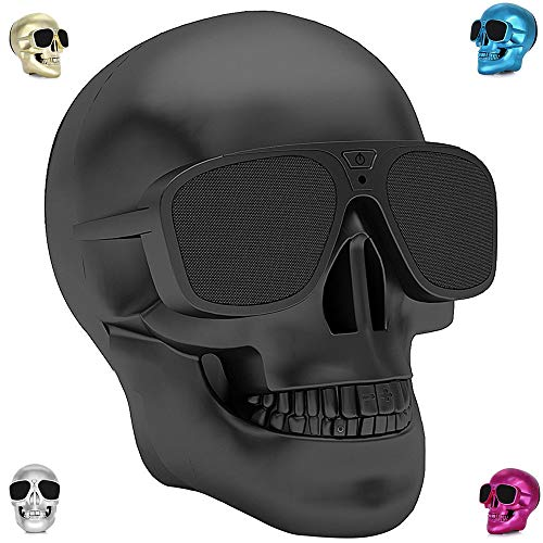 Altavoz Bluetooth Skull 4000 MAH Power Bank Inalámbrico Super Bass Stereo Sound...