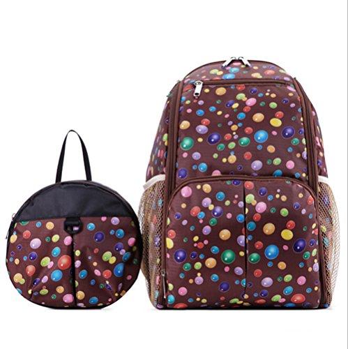 Samber Eltern und Kind Baby Kinder Rucksack Tasche 2 Stück Multifunktions Anti Verloren Grau