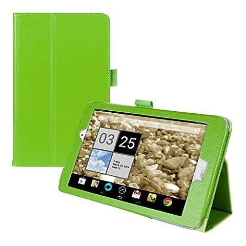 kwmobile Hülle für Acer Iconia Tab 8 A1-840 FHD - Tabletcover Slim Case Tablet Schutzhülle - Smart Cover Tabletcase Grün