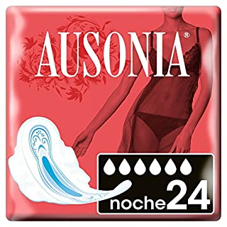 Ausonia Night Pads with Wings 24 unidades