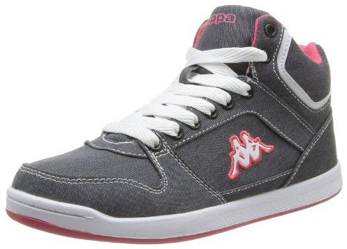 Kappa Udele Damen Sneaker Grau - Gris (Grey/Pink)