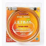 Dipra 74150 Tuyau Flexible en INOX 1,5m gaz
