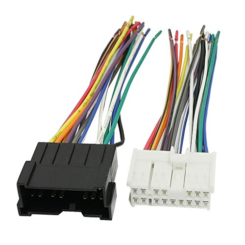 DealMux Auto-DVD-Navigation-Anschluss Kabelbaum Set für Hyundai Elantra Sonata Tucson (Sonata Hyundai Kabelbaum)