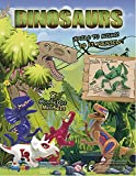 MVS Wholesale Paquete de 10 x Construye Tus Propios Dinosaurios, Ideal para Rellenar / favorecer Bolsas de Fiesta o Premio de piñata.