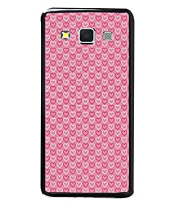 Fuson Designer Back Case Cover for Samsung Galaxy A7 (2015) :: Samsung Galaxy A7 Duos (2015) :: Samsung Galaxy A7 A700F A700Fd A700K/A700S/A700L A7000 A7009 A700H A700Yd (Hearts Spades Coffee Red Love )