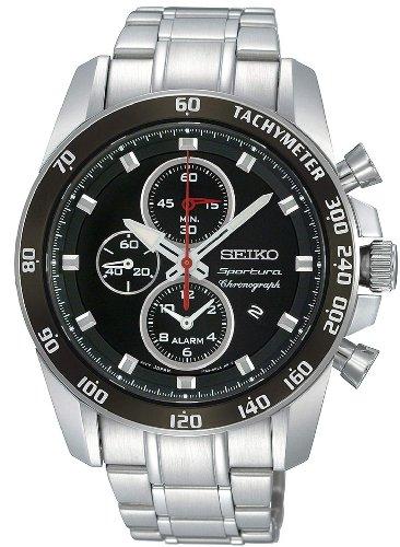 Seiko Designer Analog Black Dial Men's Watch - SNAE69P1 image