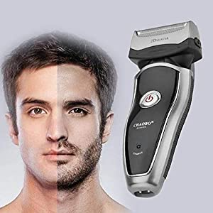 Powerful Home Rechargeable Cordless Electric Razor Portable Man Beard Shaver Groomer Double Side Trimmer Face Care Tool
