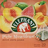 Elephant Infusion Pêche Miraculeuse 20 Sachets 38g