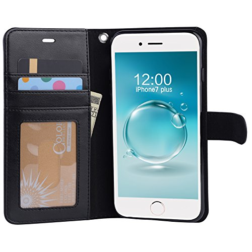 iPhone 7Plus case, Arae iPhone 7Plus case con cavalletto e flip cover