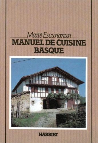 Manuel de cuisine basque