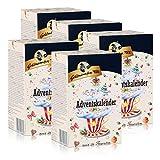 Goldmännchen-Tee Adventskalender mit 24 Teesorten 50g (5er Pack)