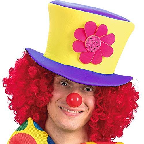 Inception Pro Infinite Modello 3 - Cappello - Clown - Pagliaccio - Saltinbanco - Costume - Travestimento - Carnevale - Halloween - Cosplay - Accessori - Uomo - Donna - Bambini