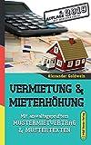 Vermietung & Mieterhöhung: Mit anwaltsgeprüftem Mustermietvertrag &...