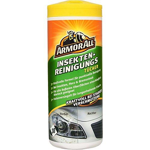 ARMOR ALL Insekten-Reinigungstücher 30 Stk. GAA75130GE, wirkt gegen Baumharz, Vogelkot, Bremsstaub