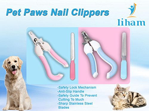 Pet Dog Cat Nail Claw Clippers, Suitable For Small, Medium and large Size Dogs, Cats, Rabbits, guinea pig, birds… 2