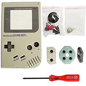 iMinker Full Gehäuse Shell Pack Fall Deckung Ersatzteile mit offenen Tools für Nintendo Gameboy GB Konsole