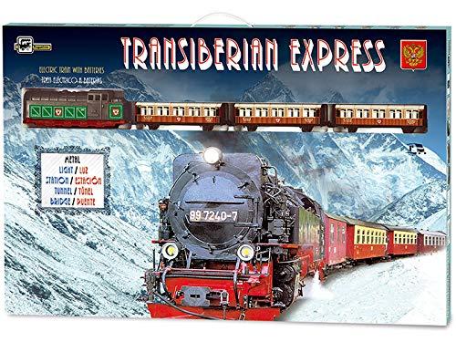 PEQUETREN Tren Eléctrico Expreso Transiberiano Metálico 450
