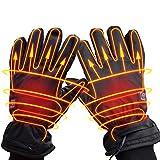 iBaste Beheizbare Handschuhe Herren Damen Elektrisch Motorradhandschuhe Fahrradhandschuhe Winterhandschuhe für Outdoor Sport