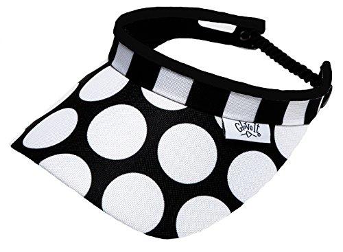 new-ladies-glove-it-mod-dot-golf-coil-visor