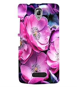 ColourCraft Flower Back Case Cover for LENOVO A2010