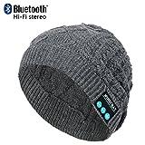 CoCo Fashion drahtlose Bluetooth-Mütze mit Musik phone Freisprech...