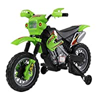 HOMCOM Kids Child Electric Motorbike Ride on Motorcycle 6V Battery Scooter Three Colours