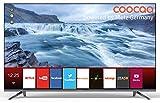 Coocaa 40S2012G 40 Zoll Smart LED Fernseher (101 cm), Rahmenloses Design, Triple Tuner, Netflix, YouTube (HDMI, CI-Slot, USB, digital Audio)