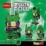 Figura de Cell Celula Dragonball Dragon Ball Puzzle Juego Bloques de construccion tamaño 9 cm DIY...
