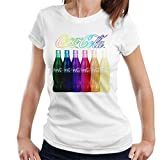 Coca-Cola Rainbow Multi Bottles Women's T-Shirt