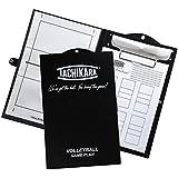 Tachikara Game Plan Dry Erase Volleyball Clipboards, Black/White