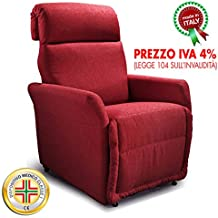 Amazon.it: poltrone relax - Rosso