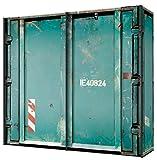 Express Möbel Schwebetürenschrank Container-Design B/H/T 200 x 216 x 68 cm