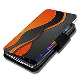 Book Style Flip Handy Tasche Case Schutz Hülle Schale Motiv Etui für Huawei Y635 - Flip 1A49 Design6
