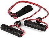 SportPlus 2-teiliges Trampolin Expander Set mit Handgriffen für noch mehr Übungen, schnelle und einfache Befestigung Trampolinrahmen, Fitnessbänder, Zugbänder, Trampolin Zubehör SP-T-110-EXP