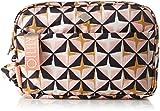 Oilily Damen Ruffles Geometrical Washbag Mhz 4 Taschenorganizer, Pink (Rose) 11x18x26 cm