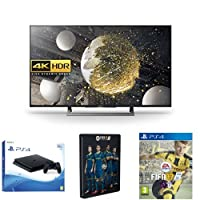 Sony Bravia 49 inch Android 4K HDR Ultra HD Smart TV with PlayStation 4, FIFA 17 Steelbook and Standard Edition (PS4) Bundle