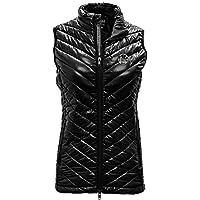 Levelwear LEY9R Damen Kugel Bold Weste, Damen, Ladies Sphere Bold Vest, schwarz, Medium