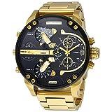 Best Diesel Watches - Diesel DZ7333 Black Gold Dial Quartz Men's Watch Review