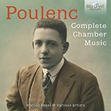 Poulenc-Complete Chamber Music