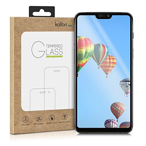 kalibri-Echtglas-Displayschutz-fr-OnePlus-6-3D-Schutzglas-Full-Cover-Screen-Protector-mit-Rahmen-Glas-Folie-Auch-fr-gewlbtes-Display-in-Schwarz
