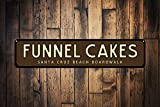 Best Arrow Funnels - Funnel Cakes Sign, Personalized Beach Boardwalk Location Sign Review