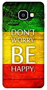 The Racoon Lean Be Happy hard plastic printed back case / cover for Samsung Galaxy A3(2016)