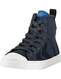 9f7be4895d5 Hummel Strada Double Tongue Total Eclipse Junior Trainers