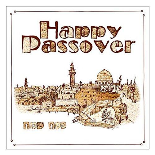 Happy Passover 3 Ply Napkins by Jerusalem (3 Happy Meal)