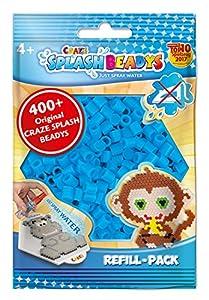 CRAZE-Cuentas de fusibles Fuse Beads Splash BEADYS Juego de Recambio de Perlas de artesanía de reemplazo Conjunto de Bolas de Agua 11669, Color Azul