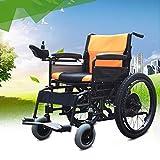 Best Las sillas de ruedas eléctricas - Sillas De Ruedas Eléctricas Plegable Fácil Para La Review