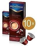 MÖVENPICK COLOMBIA LUNGO Kaffeekapseln 10 x 10 Kapseln Sparset